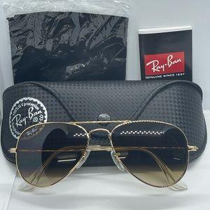 BNIB Never Worn Rayban Rb3025 Gold …